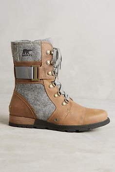 Sorel Major Carly Lace-Up Boots - anthropologie.com