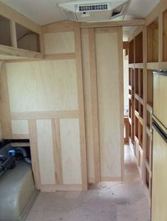 Pocket doors, overhead cabinet and couch... - Airstream Forums