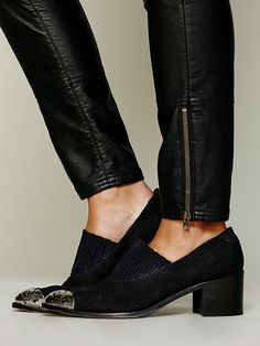 Free People Cabriole Low Ankle Boot at Free People Clothing Boutique, $158