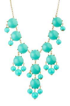 Mint Bubble Dots Necklace by t+j Designs