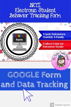 Organize & streamline your Behavior RTI program. This form is created using Google forms and can be copied to your Google Drive. Teachers can complete a questionnaire & make a referral electronically. You will receive a notification every time a student is recommended. Collecting data for your BRTI program will be made easy! #BRTI #GoogleForm #BRTIreferral #DataCollection #CreativeCounselor #CreativeCounselingResources Behavior Tracking, Behavior Goals, Data Tracking, Student Behavior, Elementary School Counselor, School Counseling, Elementary Schools, Response To Intervention, Counseling Activities