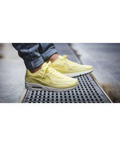 Nike Air Max 90 Ultra Breathe Lemon Chiffon Shoes Sale