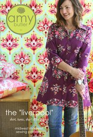Supposed to be a great shirt pattern with many different lengths, dress length to short and lots of sleeve variations.