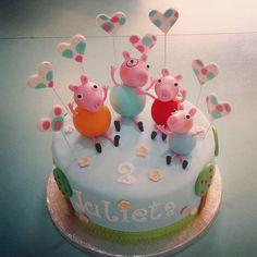#peppapig#cake#kids#birthday (en La Pequeña Pastelería de Mamá)