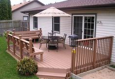 The wood plastic composite veranda decking is a new type of composite made by mixing wood powder with in PVC, PE. Deck Fire Pit, Eco Friendly, Flooring, Wood, Outdoor Decor, Decking, Patio Ideas, Powder, Home Decor