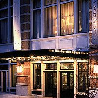 Soho Grand Hotel. Maybe it is over-hyped, but it is still a nice boutique hotel.