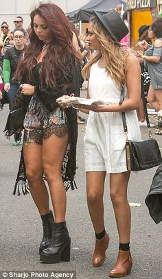 Jade Thirlwall and Jesy Nelson