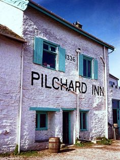 The Pilchard Inn is located on Burgh Island, dating back to 1336, Devon