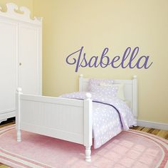 Custom nursery wall decal,musical sign wall art,Baby Girl Room decor,Personalized name wall art,removable decal - Wall Decal - Create Custom Vinyl Wall Decals, Nursery Wall Decals, Wall Decal Sticker, Wall Stickers, Baby Girl Room Decor, Girl Rooms, Baby Room, Name Wall Art, Wall Signs