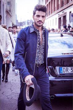 Mariano Di Vaio during Milan Fashion Week day 2
