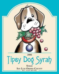 81 Best Dog Themed Wine Labels Ideas Dog Themed Creative Type Wine