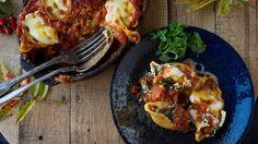 Gevulde pastaschelpen met ricotta, spinazie en pijnboompitten | VTM Koken