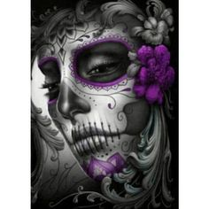 Sugar skull tattoos ❤ liked on Polyvore featuring accessories and body art