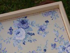 Bell'Arte - Arte em madeira e tecido: caixa