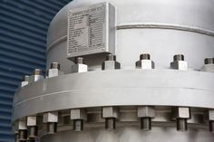Fabrication of 316L stainless steel Condensate Flash Drum Pressure Vessel to AS1210 Class 2A standards.