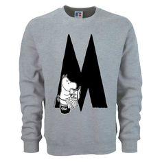 Moomin Alphabet sweatshirt - M as in Moominmamma - The Official Moomin Shop - 1