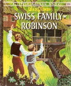 swiss family robinson little golden book