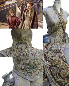 """Os detalhes nos figurinos de Game of Thrones Game Of Thrones Dress, Game Of Thrones Costumes, Theatre Costumes, Movie Costumes, Vestidos Vintage, Vintage Dresses, Hijab Fashion Inspiration, Style Inspiration, Bang Bang"
