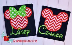 Personalized Disney Christmas Shirt Cruise-Parks by bowsandgirls