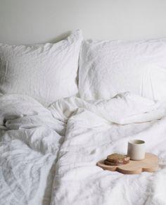 breakfast in bed, image by Marjon Hoogervorst