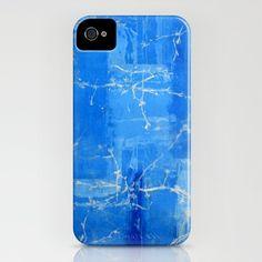 Dreams_Blue - iPhone Case by Garima Dhawan
