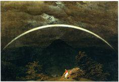 Casper David Friedrich, Gebirgslandschaft mit Regenbogen