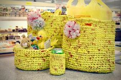 Recycle Those ShopRite Plastic Bags with Two Easy Crochet DIYs!