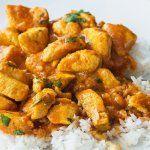 Pollo al curry original - Kitchen Recipes, Baby Food Recipes, Great Recipes, Cooking Recipes, Healthy Recipes, Arroz Al Curry, Taste Made, Tasty, Yummy Food