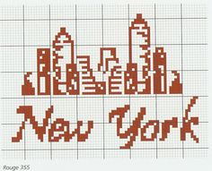 Should make this for my bedroom, now decorated in NYC stuff.