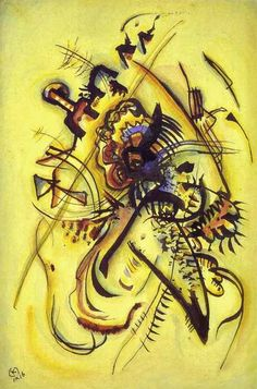 Wassily Kandinsky, To the Unknown Voice, 1916