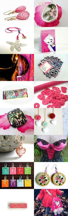 Pretty in pink by JustShellin on Etsy--Pinned with TreasuryPin.com