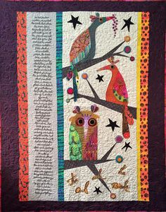 The Owl and the Bird by Kimberly Rado for her Aesop's Fables line (coming soon!) http://www.starrynighthollow.com