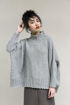 Модный свитер Haven подходит и для стройных, и для полных