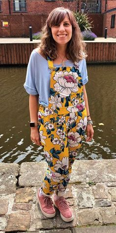 Louise's Mila dungarees - sewing pattern by Tilly and the Buttons
