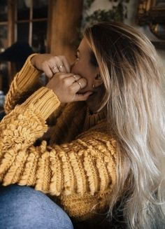 cableknits + denim || outfit ideas