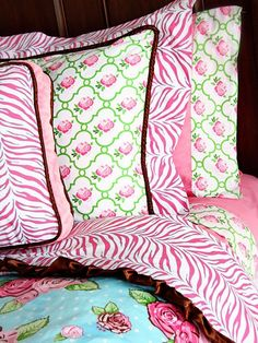boutique pink bedding from Caden Lane
