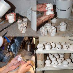 Chris Wight   Artist in Bone China :: Making