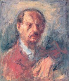 Self Portrait - George Bouzianis Painter, Self Portrait, Art Database, Painting, Greek Art, Visual Art, Artwork, Male Artist, Artwork Painting