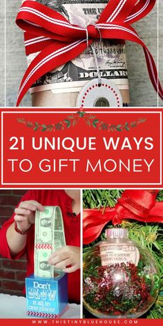 Make gifting money fun & festive with these unique Christmas money gifts. These best ways to give money gifts are the ultimate way to give the gift of cash. Christmas Ideas For Boyfriend, Teenage Girl Gifts Christmas, Diy Christmas Gifts For Men, Teenage Gifts, Last Minute Christmas Gifts, Christmas Presents, Holiday Gifts, Creative Money Gifts, Money Gifting
