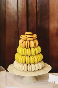 Ombre Macaron Tower from Mothers day surprise photo shoot. Macarons by The Almond Tree, styling by Your Party Plannery.