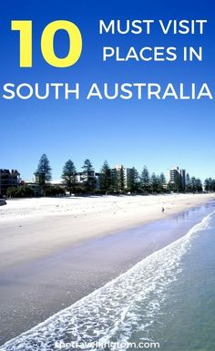 South Australia is Australia's underrated state. There are beautiful places such as Adelaide, Hahndorf and the Yorke Peninsual just waiting to be discovered. Check out my list of the best places to visit in South Australia for more info! South Australia travel | visit South Australia | where to go in South Australia | things to do in South Australia | places to go in South Australia | where to stay in South Australia #southaustralia #travel #australia #AustraliaTravel2Weeks #placestotravel