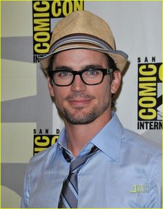The eyes, the hat, the glasses.  Oh my