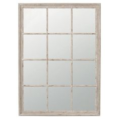 Sash window wall mirror £265 perfect for the hallway! How To Choose Your Wedding Presents The Smart Way | sheerluxe.com