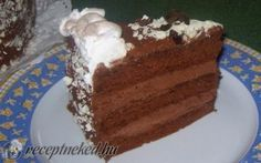 Párizsi krémes csokoládétorta recept fotóval