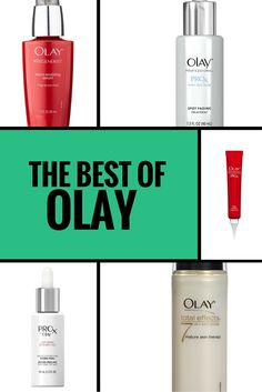 The best of Olay: what skincare products are worth the splurge (and which ones you should avoid) via @giorgiabwb