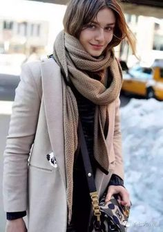 LoLoBu - Women look, Fashion and Style Ideas and Inspiration, Dress and Skirt Look Look Winter, Autumn Winter Fashion, Winter Layers, Fall Winter, Winter Wear, Casual Winter, Winter Season, 2015 Winter, Winter Chic