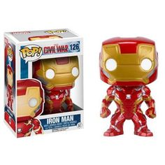 Iron Man Collectible Vinyl Figure - Original Funko Pop Marvel Civil Wa – One Geek  DETAILS & DIMENSIONS Product: Iron Man Figures Product Size: 10 cm Material: PVC Age: Over 6 years old Type: Collectible Vinyl Doll Theme: Movie & TV Manufacturer: Funko