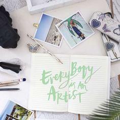 Everybody is an artist! #oddmolly #createodd #pentin