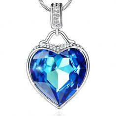 71eab40df ♥Valentines Gifts♥ SYLVICA Women Jewelry Necklace, #crystaljewelry