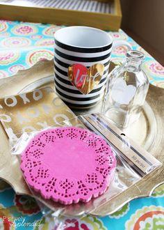 DIY Breakfast Tray - A great gift idea! MichaelsMakers Positively Splendid